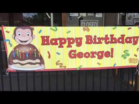 Happy Birthday Curious George!