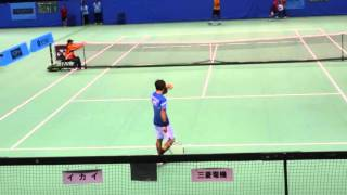 Yuichi Sugita (JPN) vs Rajeev Ram (USA) ① Tennis Japan League 2016 Mitsubishi Electric vs IKAI
