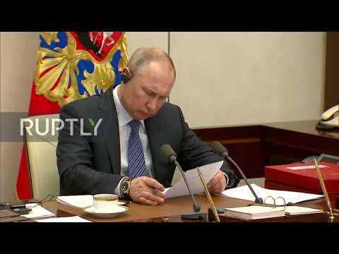 Russia: Putin Takes Part In G20 Emergency Video Summit On Coronavirus