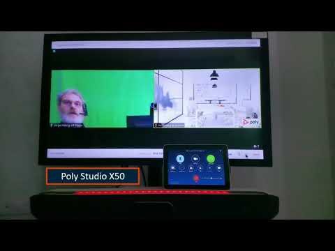 Poly Studio X en modo Zoom  Español
