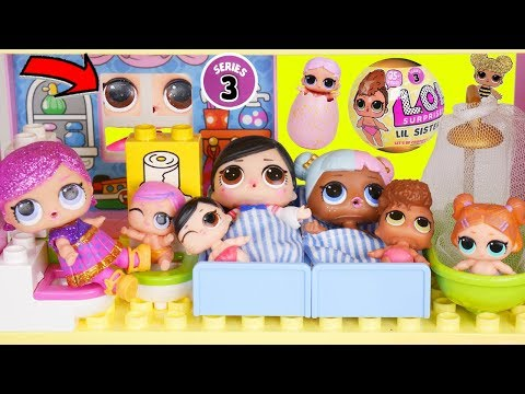 LOL Surprise! Dolls Dig GOLD Gemstones Babysits School Lil Sisters Christmas Advent Swirl Unboxed!