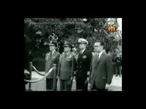 Visita del Presidente Paz Estenssoro a John F. Kennedy