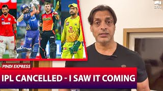 IPL Cancelled - I Saw it Coming | Shoaib Akhtar | SP1N