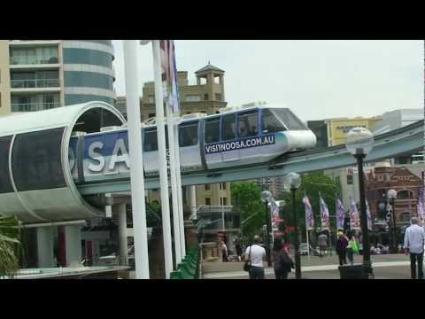 Sydney monorail, a great way to get around