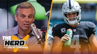 Colin Cowherd: Jon Gruden should be 'very careful' about trading Derek Carr | NFL | THE HERD