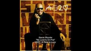 Stevie Wonder   My Love Is On Fire   YouTube