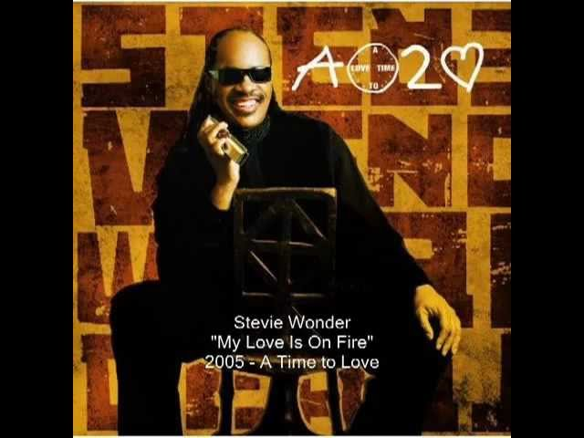 Stevie Wonder My Love Is On Fire Youtube Chords Chordify