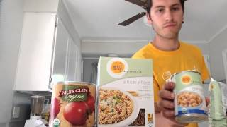What I eat in a day on 80/10/10 #15