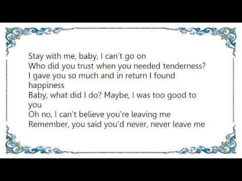 Karise Eden - Stay with Me Baby Lyrics
