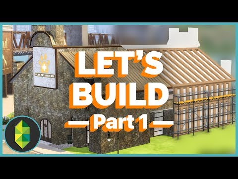 Let's Build - Vet Clinic Remodeling (Sims 4)