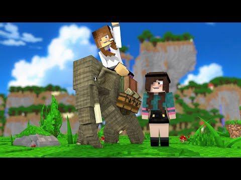 Minecraft: FAZENDINHA #31 - PILOTAMOS UM ELEFANTE! | BIBI |