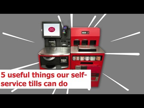 5 useful things our self service tills can do | Post Office