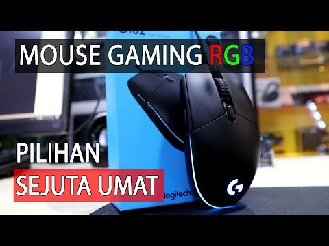 Quick Review 1 Menit Gaming Mouse Logitech G102 Prodigy Indonesia