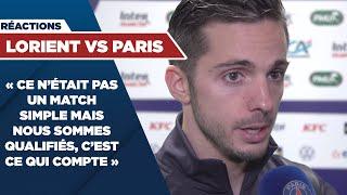 REACTIONS : LORIENT vs PARIS SAINT-GERMAIN