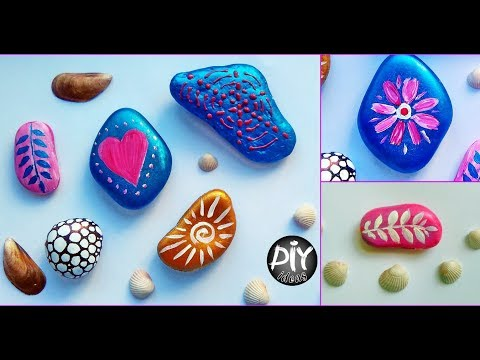 Creative Painting Rocks Ideas - DIY Stone Art Crafts For Room Decor