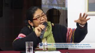 Sofía Chipana: Hallazgos y aprendizajes de los 26 años de teología andina