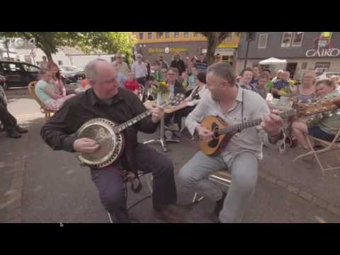 Kevin Griffin and Eoin O Neill. Fleadh TV 2016. Ennis Co. Clare