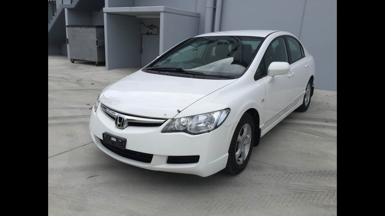 sold 2006 honda civic white for sale review youtube. Black Bedroom Furniture Sets. Home Design Ideas