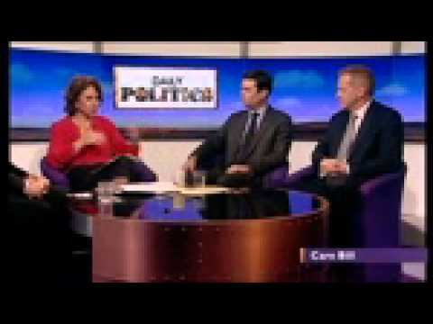 Dr Phillip Lee MP on the Daily Politics show - discussing the Care Bill