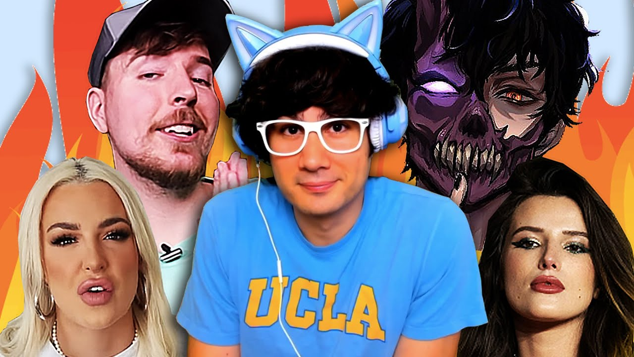 Download MrBeast CANCELLED For Burger, Corpse Husband QUITS, Tana Mongeau GOES OFF On Bella Thorne