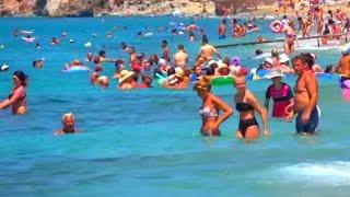 Пляж Клеопатры в Алании - 86 Kleopatra beach Alanya Cleopatra beach Лучшие пляжи