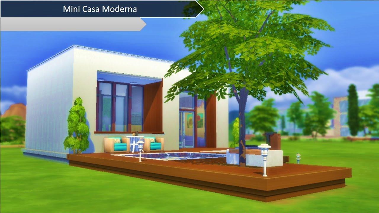 Casas modernas the sims mini casa moderna the sims for Mini casas modernas