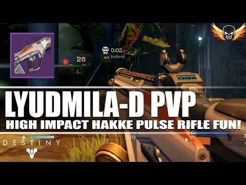 Hakke Lyudmila D Pulse Rifle PVP Live Comm   Don't Sleep On This Gun