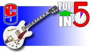 Iconic ES Guitars | Top 5 in 5 #8