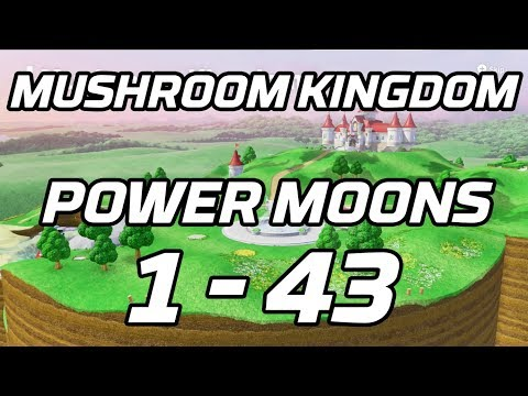 [Super Mario Odyssey] Mushroom Kingdom Post Game Power Moons 1 - 43 Guide