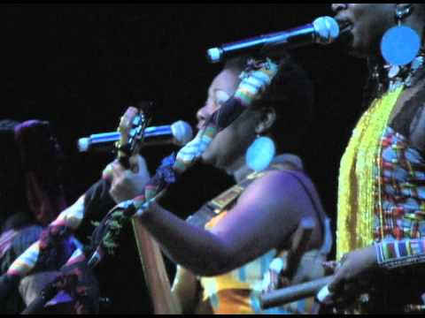 Africa Music Time - Acoustic Africa 3 Live - Afropean Women