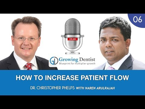 HOW TO INCREASE PATIENT FLOW : DR. CHRISTOPHER PHELPS: Growing Dentist