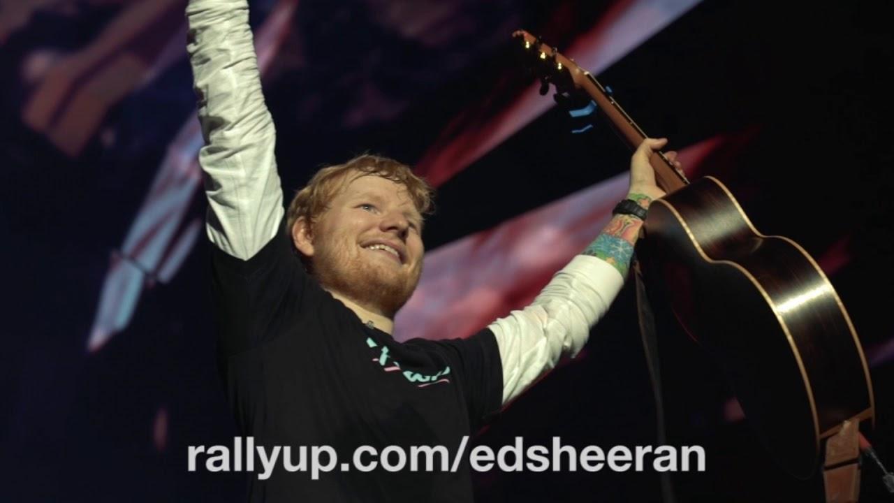 Drop4Drop x Ed Sheeran