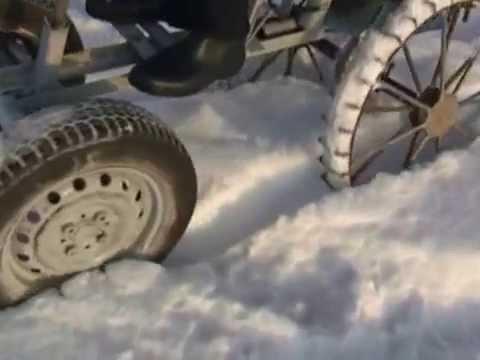 чистим снег на МТЗ 82)) - YouTube