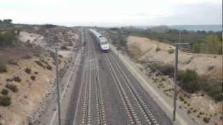 Grande session TGV sur la LGV med (4)
