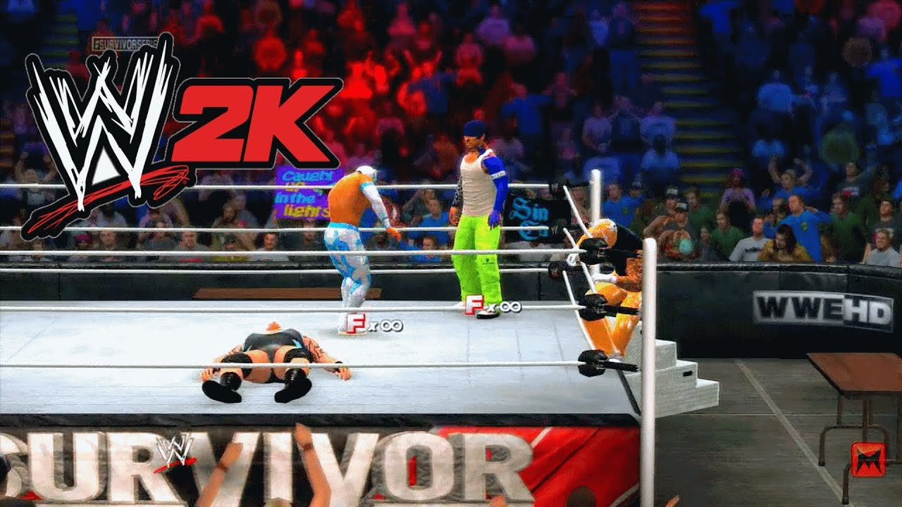 WWE 2K14 - Match Types In This Years Wrestling Game