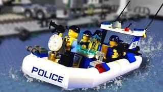 Лего ПОБЕГ ИЗ ТЮРЬМЫ - МУЛЬТФИЛЬМ Лего полиция