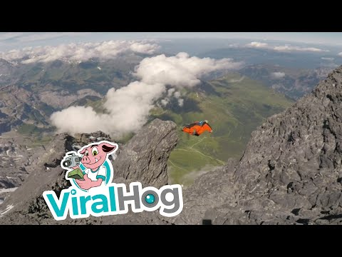 The Penthouse Blog - Man In Wingsuit Goes 120 MPH. Insane Footage