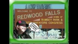 Redwood Falls Minnesota, Christmas by Candlelight on Our Story