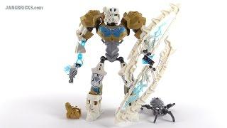 LEGO Bionicle Toa Kopaka Master of Ice review! set 70788