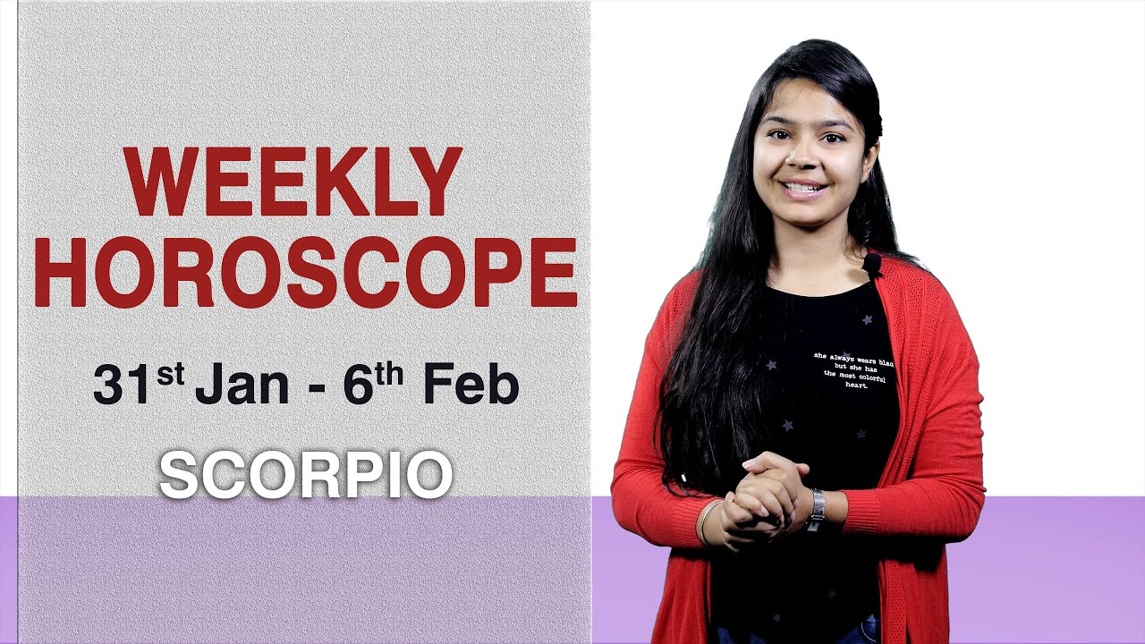 Scorpio | Weekly Horoscope | January 31–February 6 by GaneshaSpeaks com