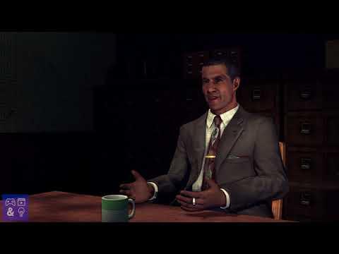 LA Noire Interrogation Gameplay Xbox One X