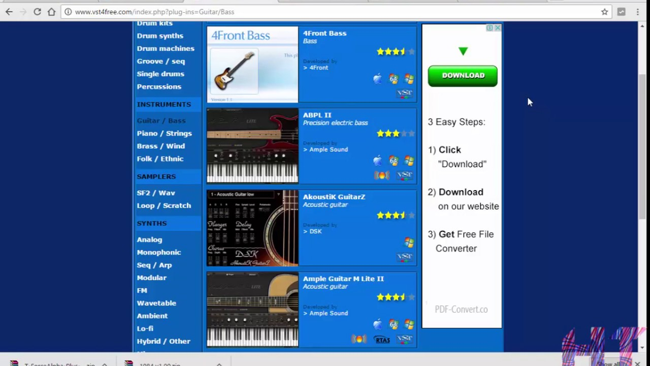 100+ free vst plugins & free vst instruments for fl studio.