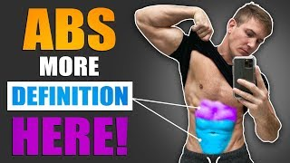 3 Easy Tips For More Defined ABS! | DO THESE AT HOME!