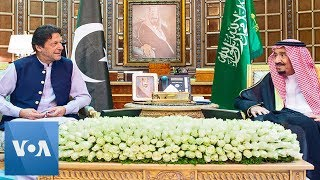 Pakistan Prime Minister Imran Khan Meets Saudi King After Tehran Visit
