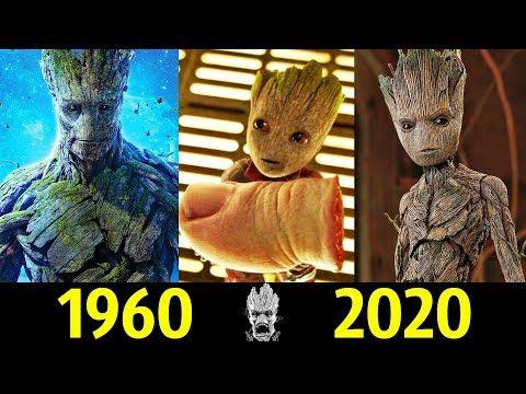 Грут (Сучок) - Эволюция (1960 - 2020) ! Все Появления !