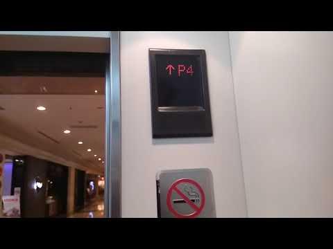 Mitsubishi Glass Elevator Parking at plaza Senayan Jakarta