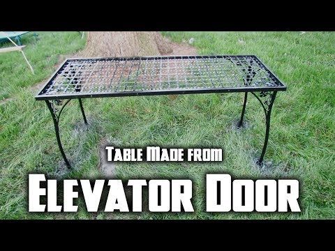 Table Made From Scrap Metal | Father / Son DIY Project