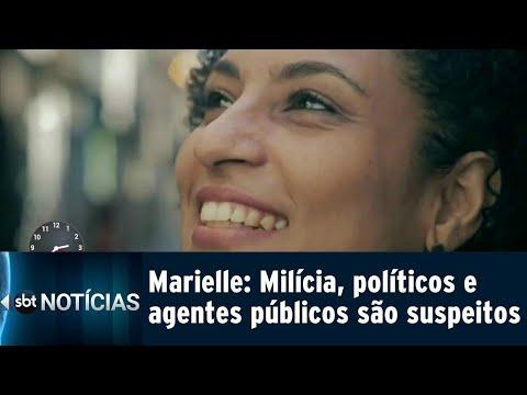 Agentes do estado, milícia e políticos são investigados no caso Marielle | SBT Notícias (09/08/18)