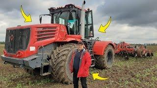 Rolnik z Hollywood Testuje Nowy Traktor ! ☆Marek Prawie Wjechał Do Rowu ! ☆Kirowiec & Uaz