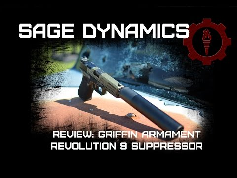 Griffin Armament Revolution 9 9mm Suppressor
